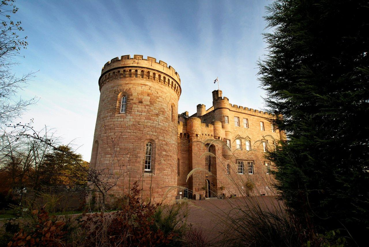 Hotels Near Dalhousie Castle